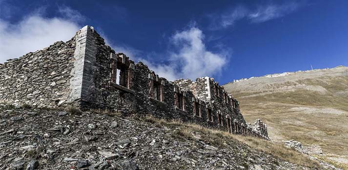 Galleria dei Saraceni – Forte Jafferau – Forte Föens – Bardonecchia