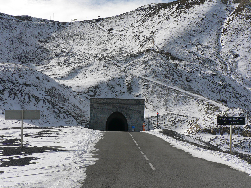 Il Tunnel del Galibier