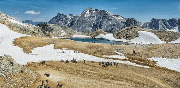 """Il 9-10 Luglio torna a Bardonecchia il Motoraduno più alto d'Europa:  lo """"Stella Alpina"""" al Colle del Sommeiller"""