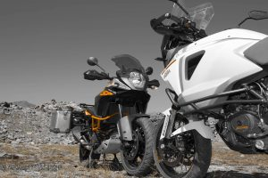 KTM Adventure test al Moncenisio