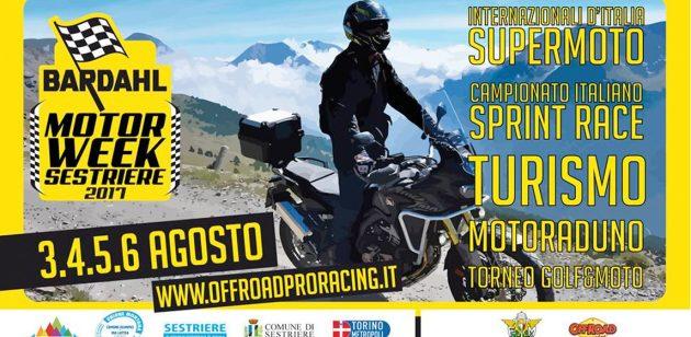 L'Alta Valle di Susa capitale alpina della moto: a Sestriere dal 4 all'8 agosto c'è il Bardhal Motor Week, un evento a 360° per tutti gli appassionati delle 2 ruote