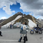 Col Du Galibier between Savoy and Hautes Alpes. Re opening on June 8th, passing through the tunnel