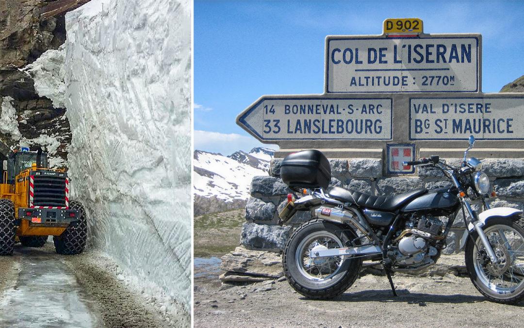 Fra muri di neve alti sino a 7 metri il Col de l'Iseran il prossimo sabato 23 giugno riapre anche sul versante della Maurienne da Bonneval