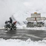 Saturday, june 23rd, reopening of Col de L'Iseran on Maurienne side  through snow walls 7 meters high