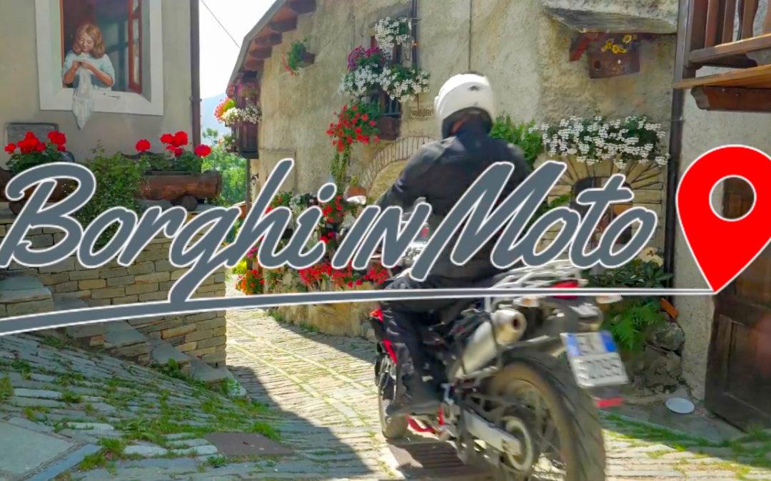 """Parte da Usseaux uno dei Borghi più Belli d'Italia il progetto """"Borghi in Moto"""": uno story telling in moto nei luoghi più suggestivi d'Italia"""