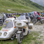 "Bardonecchia: on July 13th and 14th the motorcycles meeting ""Stella Alpina"" on Sommeiller 2019 with camping at Scarfiotti Hut. From July 15thto September 30ththe road is closed to motorized vehicles every Thursday and a toll is due"