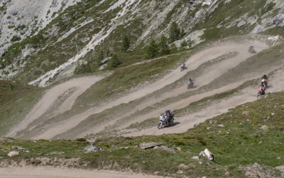"The road to the ""Colle del Sommeiller"" is closed by landslide upstream of the Scarfiotti Hut"