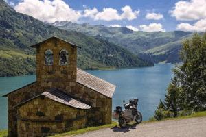 Lago di Roselend