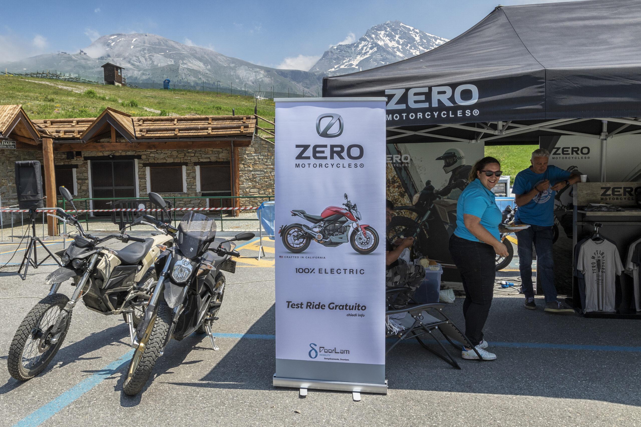 Zero Motorcycles Enduro Elettrico Valsusa